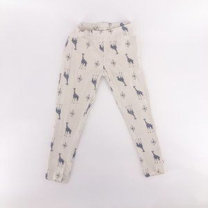 Girls Leggings Giraffe Pattern 4T Jessica Simpson
